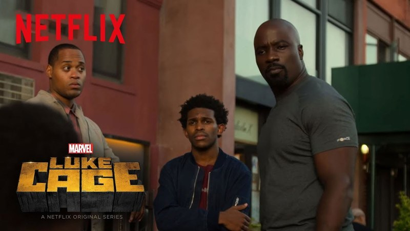 Marvels Luke Cage Season 2 | Clip Luke Cage Carries the Weight of Harlem [HD] | Netflix