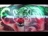Процесс создания граффити by Bozik