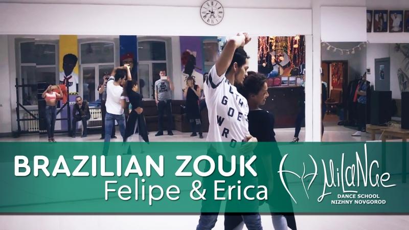 🔥FelipeErica, Brazilian ZOUK DEMO!