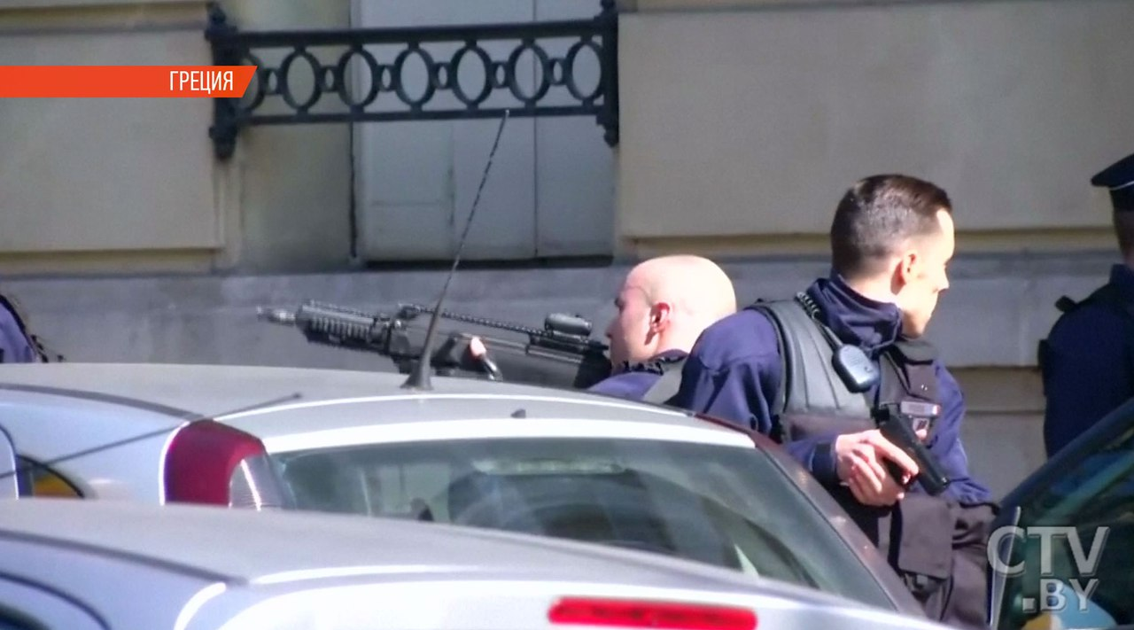 ВГреции схвачен 1-ый подозреваемый врассылке конвертов совзрывчаткой