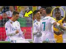 Blaise Matuidi reaction to Cristiano Ronaldo provocation after the game