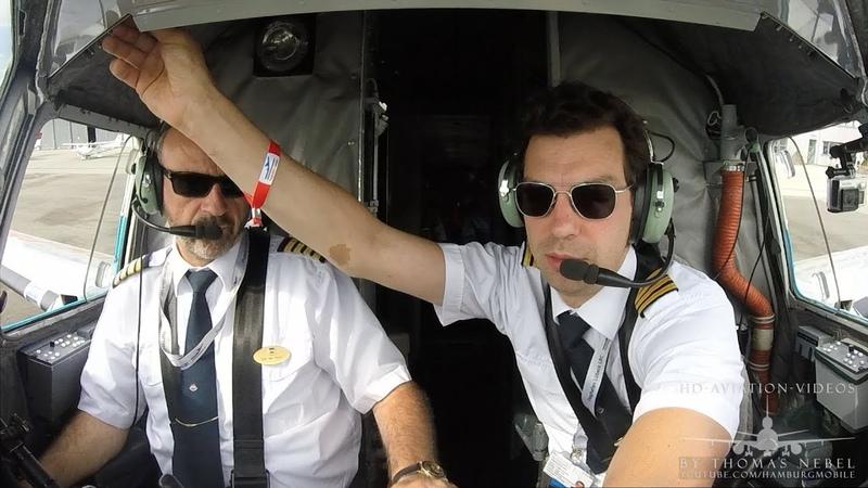ᴴᴰ ✈ PILOTS VIEW Douglas DC-3 DAKOTA - DDA Airlines (PH-PBA)