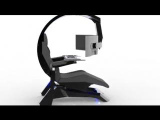 INGREM Ergonomics Computer Workstation