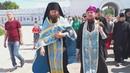 Крестный ход с грузинской иконой Божьей Матери