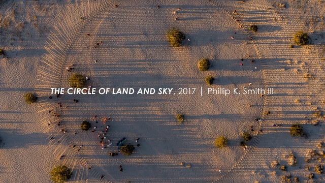 The Circle of Land and Sky, 2017 : Phillip K Smith III