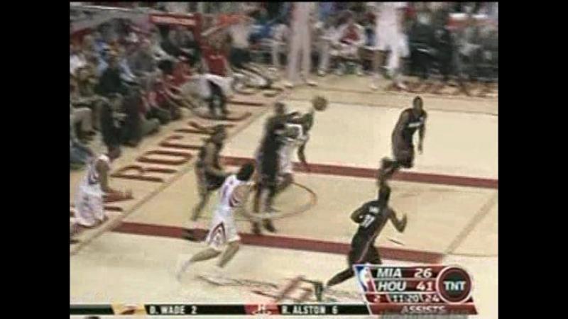 21.02.2008 Miami Heat @ Houston Rockets [1]