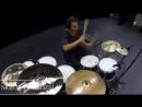 Aric Improta Барабанная цепь 9 Барабанщиков 1 песня