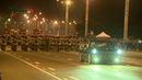 Ночная репетиция парада в Минске