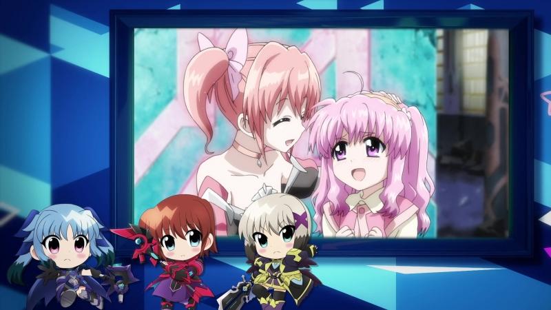 Mahou Shoujo Lyrical Nanoha: Reflection special 「Ou-sama-tachi no sakusen kaigi」 weekly movie 4