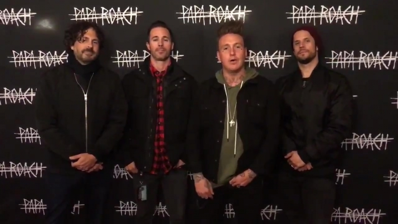 Don't miss Papa Roach at Self Help Fest in San Bernardino in just ONE WEEK