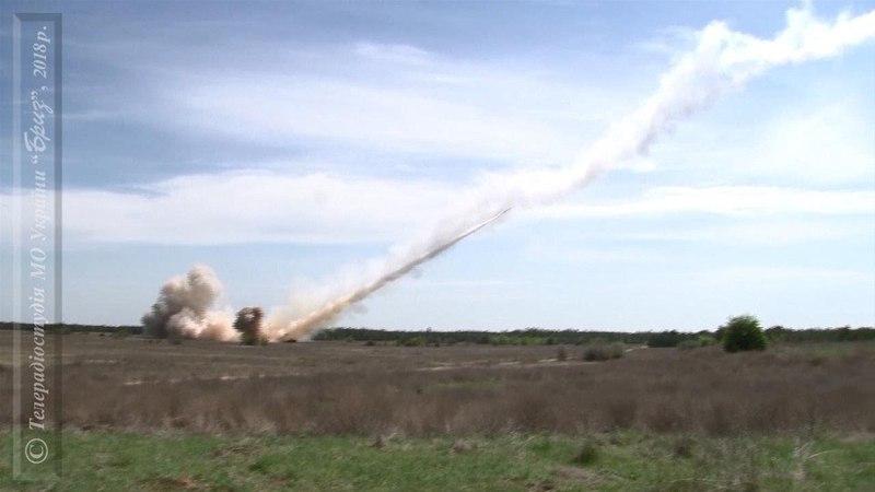 Фінальні випробування ракетного комплексу Вільха