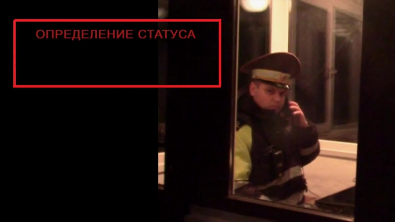ГАИ. Инспектор Федя-Терминатор