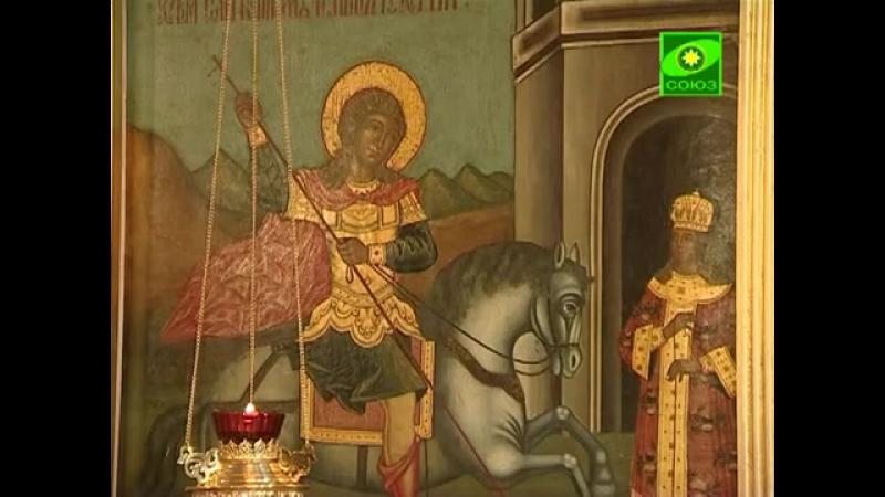 Церковь Георгия Победоносца Рождества Пресвятой Богородицы в Ендове из цикла Святыни Москвы