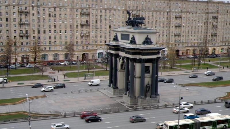 Триумфальные Ворота г. Москва. Построены в честь Победы великого народа в Отечественной Войне 1912 года.