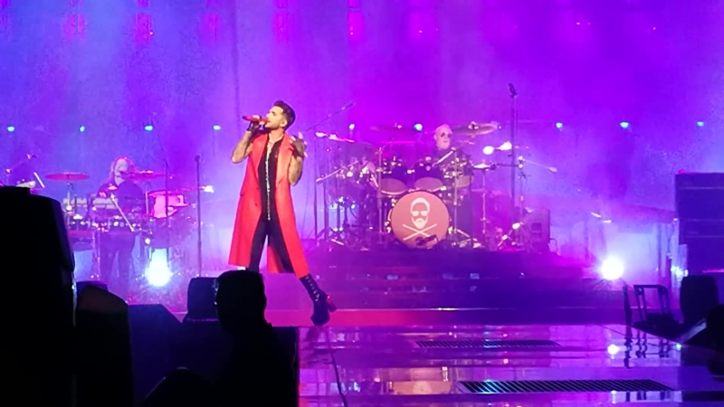 Queen Adam Lambert - Seven Seas of Rhye, Tie Your Mother, Play The Game - Berlin, 19.06.2018