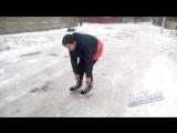 Катание на коньках по дороге - 22.03.18 - Это Ростов-на-Дону!