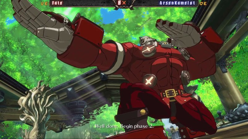 GGXrd Rev2 Get To Cup Moscow May 2018