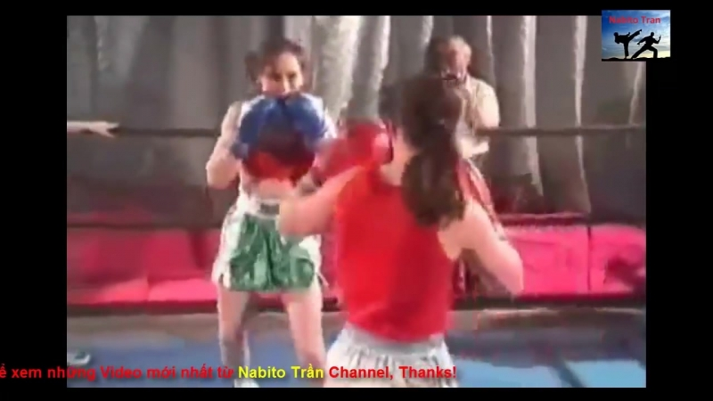 2 Female Ukrainian Boxers Boxing Fighting great