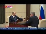 Встреча Президента России и главы Банка ВТБ Андрея Костина