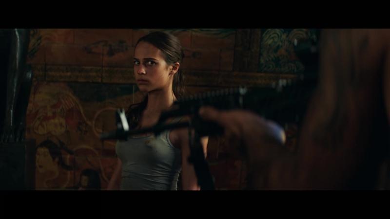 Tomb Raider: Лара Крофт (США, 2018) - Трейлер (рус.) 1920*1080HD