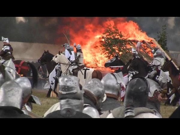 Inscenizacja Bitwy pod Grunwaldem 2017