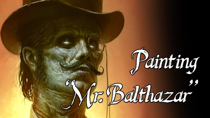 Speedpainting - Mr. Balthazar