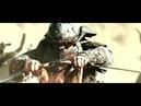 Воины с саблями и красивый нашид