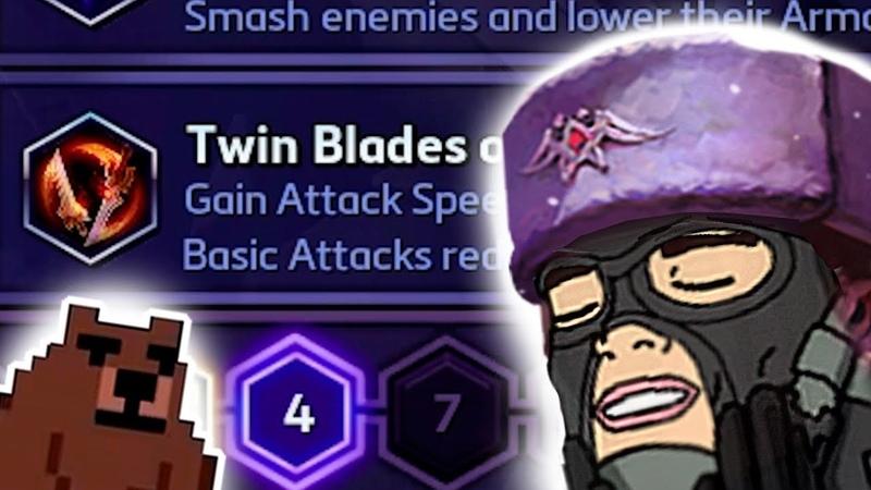 Twin Blades, Blyat