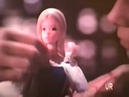 1975 Deluxe Quick Curl Barbie and Now Look Ken dolls Commercial