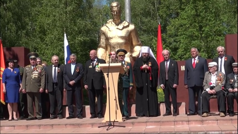 11 мая 2018 года ХРАМ ПАМЯТНИК ГЕОРГИЯ ПОБЕДОНОСЦА д МИКУЛИНО