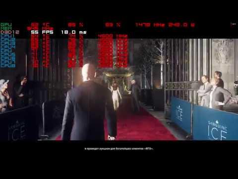 Hitman dx12 2k,1440p gameplay rx vega 64 liquid