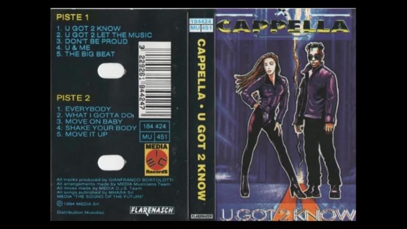 CAPELLA - U GOT 2 KNOW - ALBUM - 1994 CASSETTE RIP (480p)