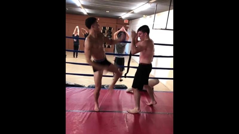 Молодой боец Bellator Майк Кимбл начал подготовку к своему следующему бою