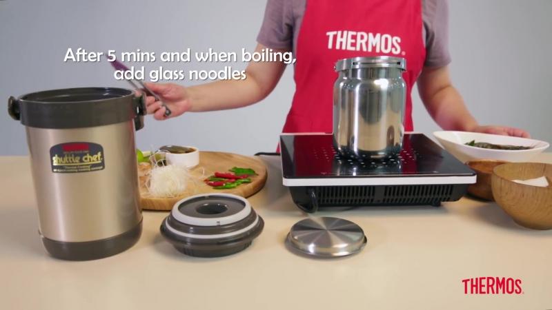 One Pot Tom Yum Glass Noodles ¦ Thermos® Recipes