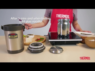 One Pot Tom Yum Glass Noodles ¦ Thermos® Recipes