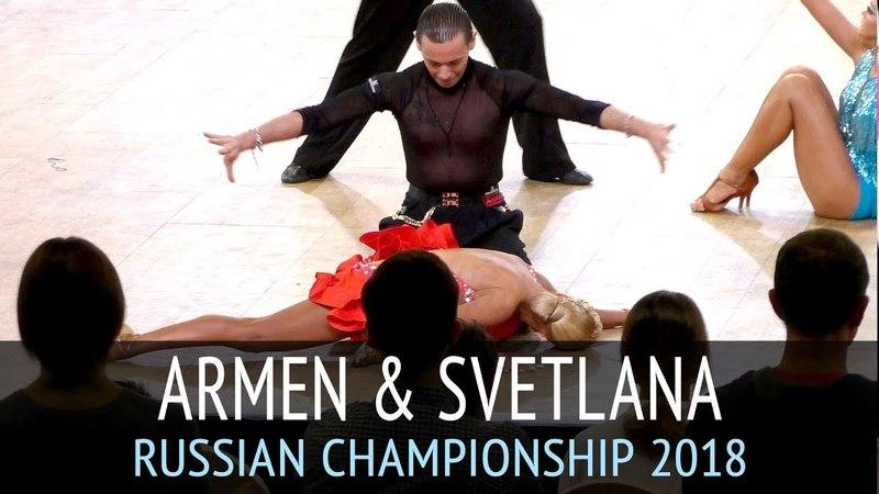 Армен Цатурян - Светлана Гудыно | Пасодобль | Чемпионат России 2018 - 2 тур