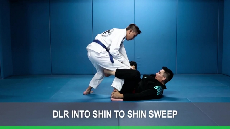 Alberto Serrano - DLR Shin to shin sit up sweep
