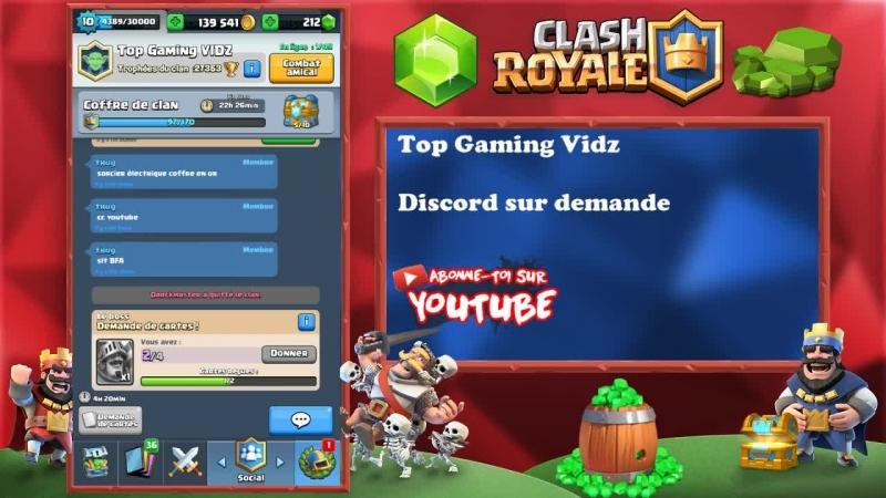 Clash Royale Défi du Méga Touchdown en LIVE avec mes abonnés | Méga Touchdown CHALLENGE