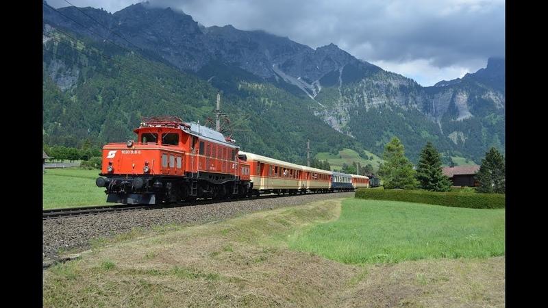 Arlberg Bahnverkehr am 01.06.18 – Die Reihe 1020 am Arlberg