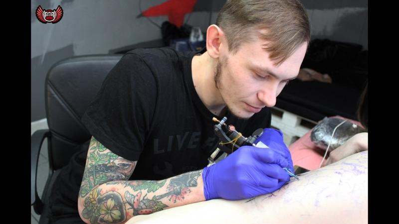 Салон Elite Tattoo мастер Иван Хитров » Freewka.com - Смотреть онлайн в хорощем качестве