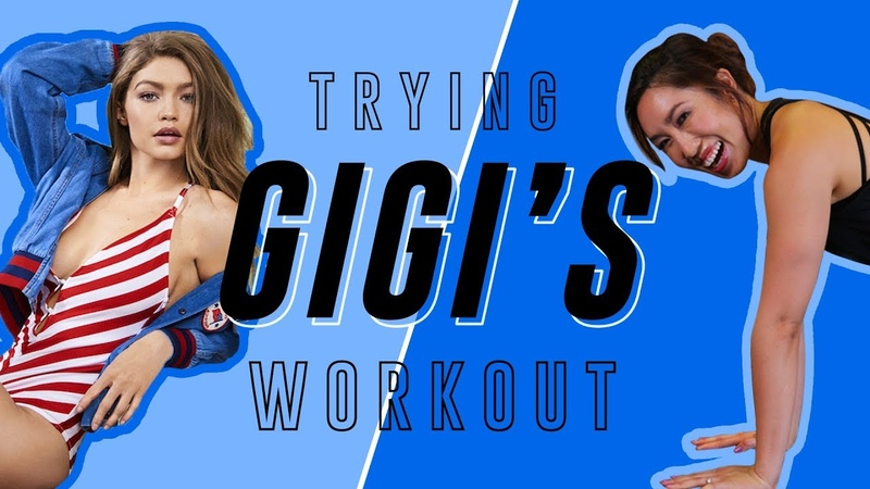 Gigi Hadid 's No Equipment Travel Routine | Cassey Tries Celebrity Workouts