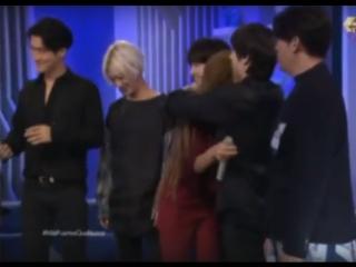 Super Junior en Montse y Joe (entrevista) Presentando a Leslie Grace PT. 3 ( 480 X 780 )