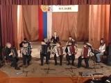 Оркестр баянистов Рамонской ДШИ.Г.Свиридов.Военный марш.23.02.2007г.