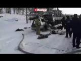 В автокатастрофе под Красноярском погибли 8 человек