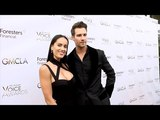 James Maslow and Gabriela Lopez 7th Annual GMCLA Voice Awards Red Carpet