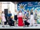 Backstage📷 Фестивальное лето ВСТРЕЧИ на ПОЧТОВОЙ модели SIGMA показ одежда ПАПРИКА