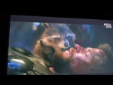 Встреча Тора и Стражей галактики в «Мстителях: Война бесконечности»