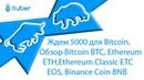 Ждем 5000 для Bitcoin. Обзор Bitcoin BTC, Ethereum ETH, Ethereum Classic ETC, EOS, Binance Coin BNB