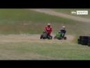 Sky Sports F1 Kimi Raikkonen lawnmower race......need we say more!