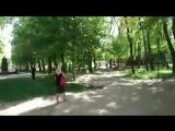 Страус сбежал из вольера 17.5.2018 Ростов-на-Дону Главный